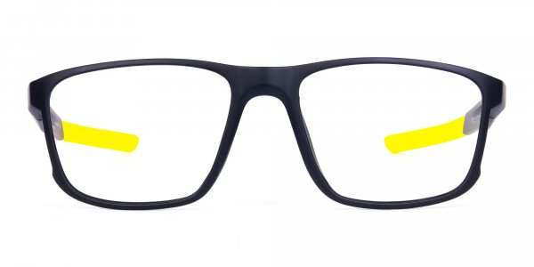 Black and Yellow Frame Cycling Goggles