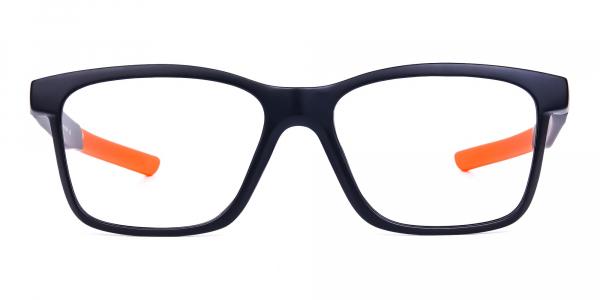 Black Colour Rectangular prescription golf glasses