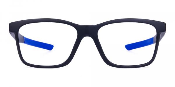 Blue & Black Running Glasses For Men