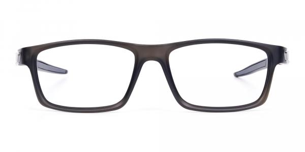 Rectangular-Gunmetal-and-Black-Sports-Glasses-1