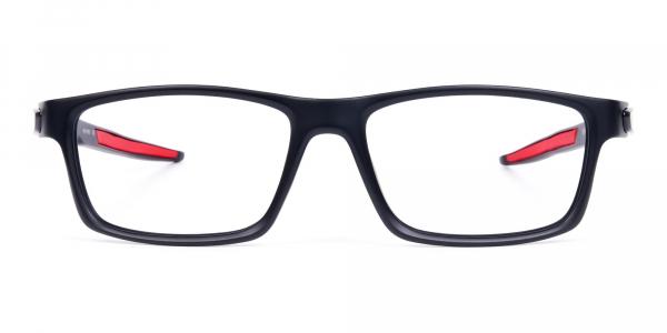 Black Rectangular Glasses Frames