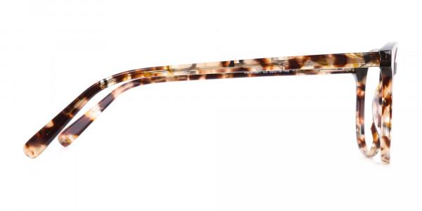 Tortoise Acetate Wayfarer Eyeglasses Unisex-4