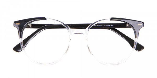 Translucent Glasses with Colour Combination - 6