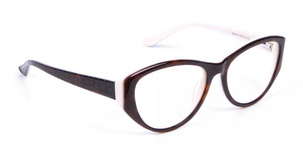 Woman's Tortoiseshell & Havana Glasses - 1
