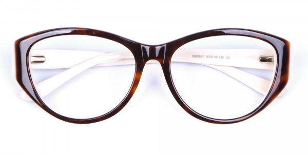 Woman's Tortoiseshell & Havana Glasses - 6