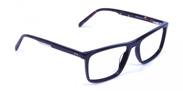 Black & Tortoiseshell Glasses - 1