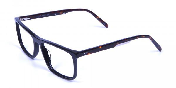 Black & Tortoiseshell Glasses - 2