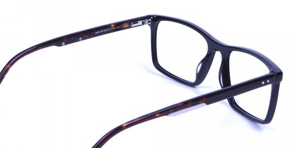 Black & Tortoiseshell Glasses - 4