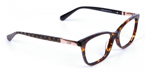 Tortoiseshell Cat Eye Glasses for Women - 1