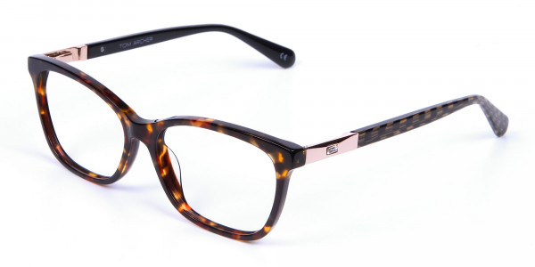 Tortoiseshell Cat Eye Glasses for Women - 2