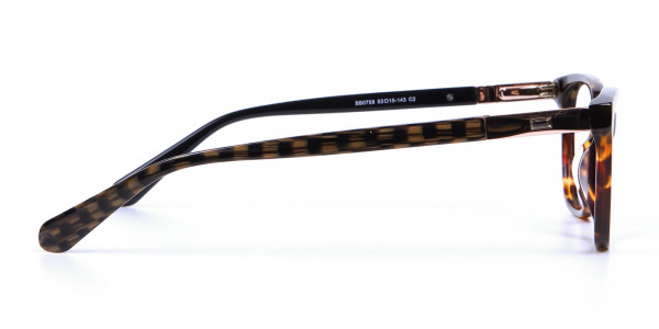 Tortoiseshell Cat Eye Glasses for Women - 3