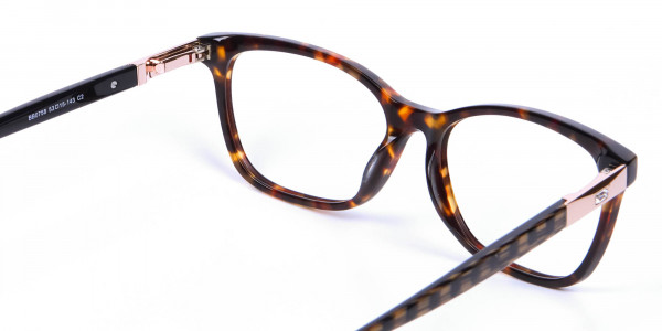 Tortoiseshell Cat Eye Glasses for Women - 4