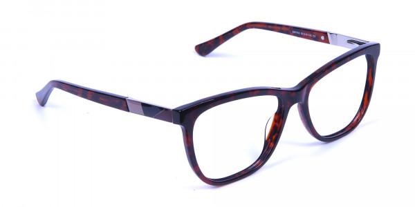 Tortoiseshell & Havana Oversized Glasses - 1
