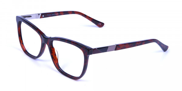 Tortoiseshell & Havana Oversized Glasses - 2