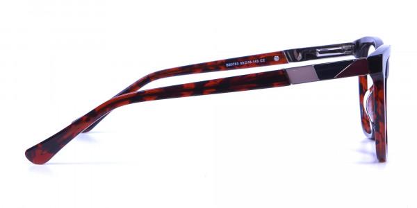 Tortoiseshell & Havana Oversized Glasses - 3