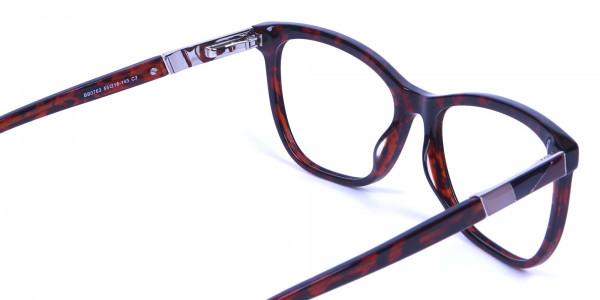 Tortoiseshell & Havana Oversized Glasses - 4