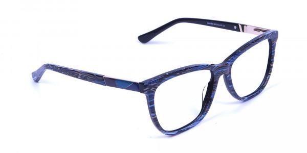 Blue Oversized Glasses- 1