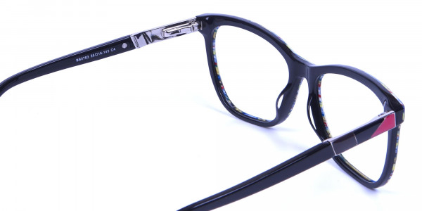 Green and Blue Oversized Glasses for Men and Women - 4