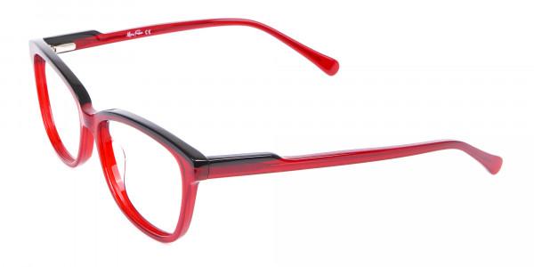 Funky Red Unisex Glasses Online UK-3