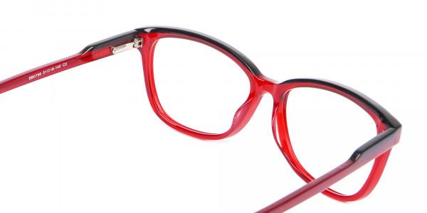 Funky Red Unisex Glasses Online UK-5