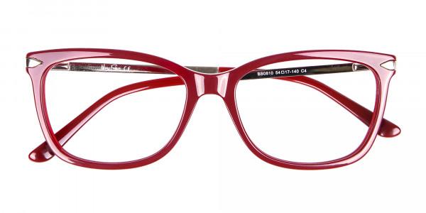 Woman Rectangular Glasses Neutral Design UK- 6