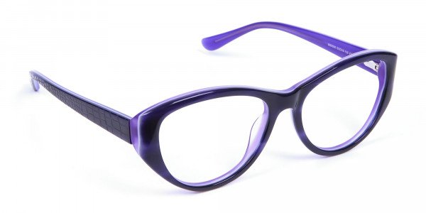 Violet Purple Glasses  -1