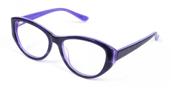 Violet Purple Glasses  -2
