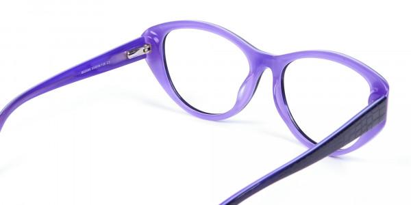 Violet Purple Glasses  -4