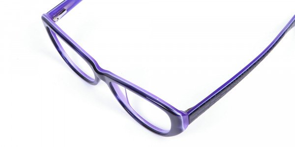 Violet Purple Glasses  -5