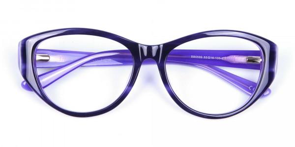 Violet Purple Glasses  -6