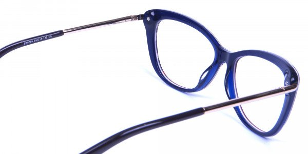 Gold Brown Zebra Glasses -4