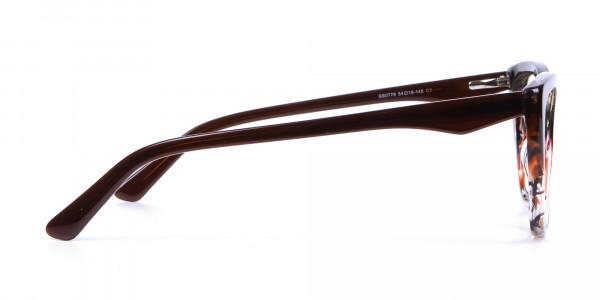 Brown Tortoiseshell Cat Eye Glasses for Women - 3