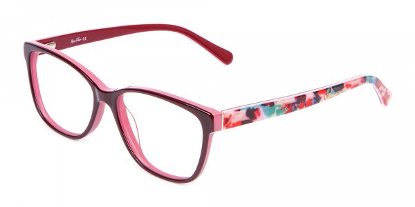 Two-tone Red Glasses for All Occasions-3