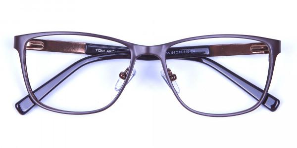 Mocha Brown Cat Eye Eyeglasses  -5