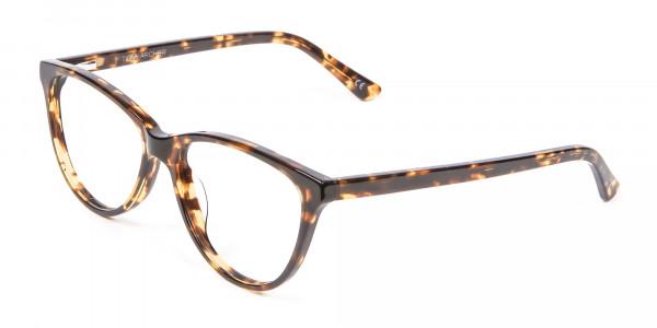 Tortoiseshell & Havana Cat Eye Glasses - 2
