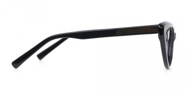 Black Cat Eye Glasses Frame For Women-4