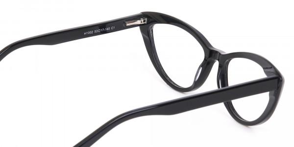 Black Cat Eye Glasses Frame For Women-5