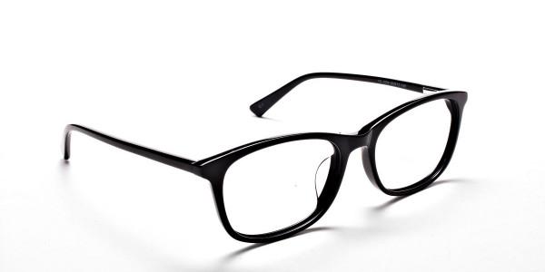 Black Classic Glasses - 1