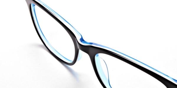 Black & Sky Blue Glasses -6