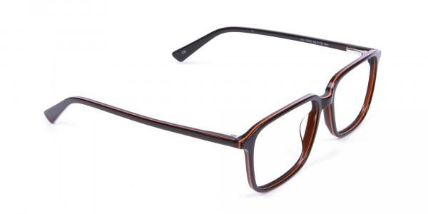 Fashion Rectangular Glasses - 1