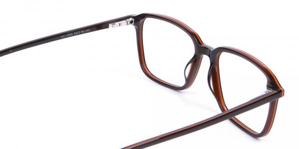 Fashion Rectangular Glasses - 4
