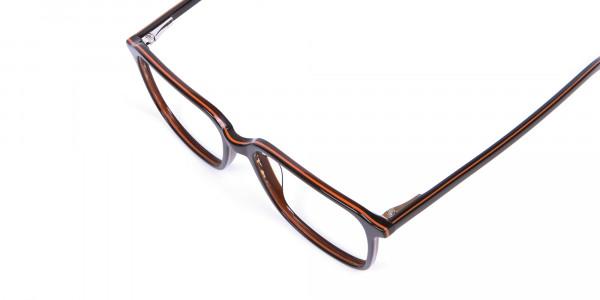 Fashion Rectangular Glasses - 5