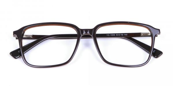 Fashion Rectangular Glasses - 6