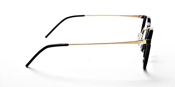 Black Round Glasses -4