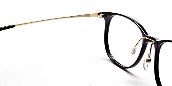 Black Round Glasses -5