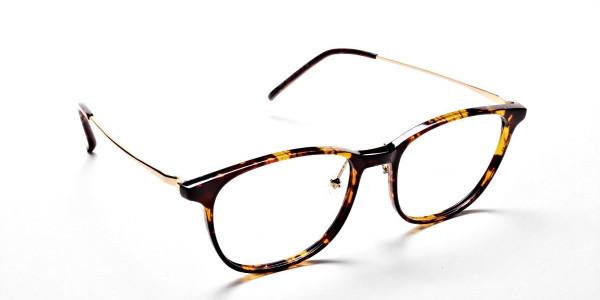 Tortoiseshell Round Glasses -2