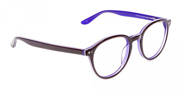 Black and Violet Glasses Online - 2
