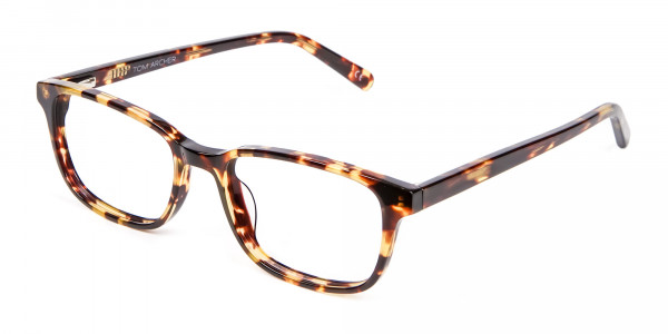 Havana & Tortoiseshell Wayfarer Glasses - 2