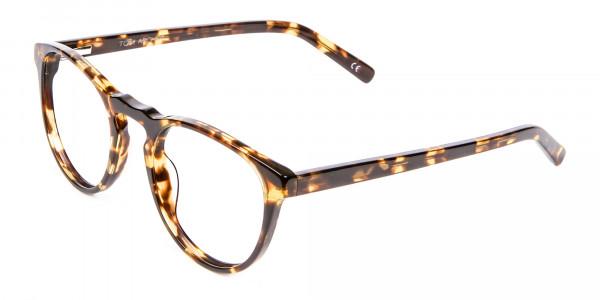 Classic Havana & Tortoiseshell Round Glasses - 2