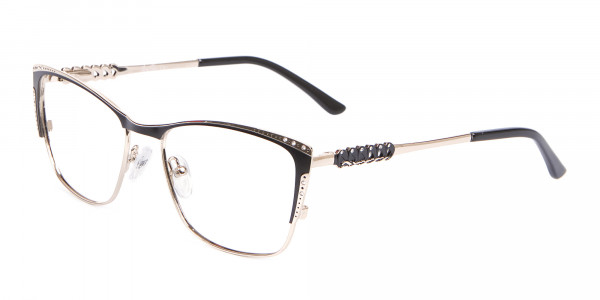 Lady Glasses Rectangular and Cateye-3